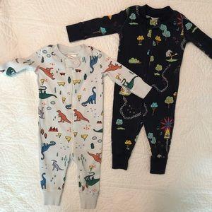Hanna Andersson Pajamas (set of two) 3-6mo